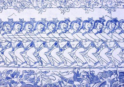 Zhuang Hui & Dan'er, 'DescribingAngkor', 2008