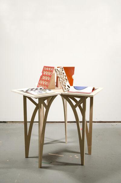 Rafael Domenech, 'Untitled (3 Parts Table)', 2017