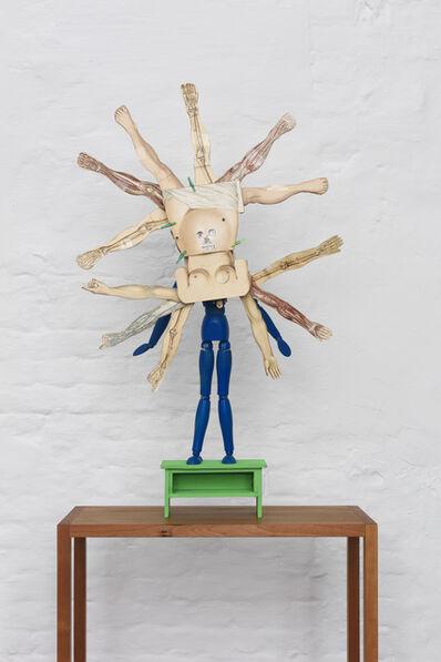 Patrick Van Caeckenbergh, 'Maquette: Le monde à l'envers', 2015-2020