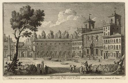 Giuseppe Vasi, 'Villa, e Casino Medici sul monte Pincio', 1747-1801