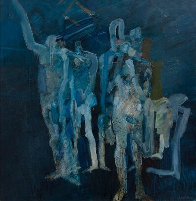 Keith Vaughan, 'Blue Assembly', 1964