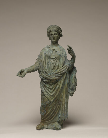 'Statuette of a Goddess, probably Ceres or Juno',  50 -75
