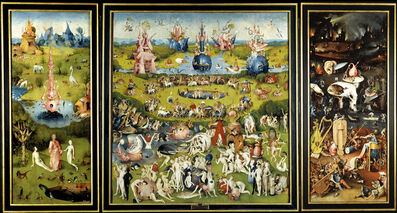 Hieronymus Bosch, 'The Garden of Earthly Delights', 1490-1500