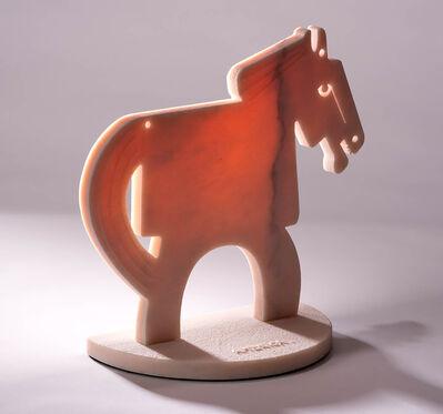 America Martin, 'The Rose Quartz Horse (Small)', 2021