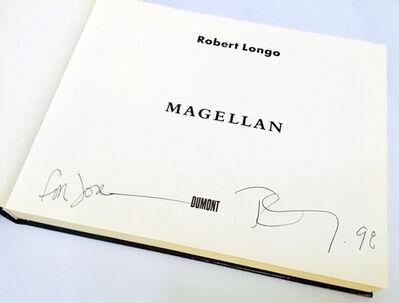 Robert Longo, 'Signed Robert Longo Magellan book ', 1997
