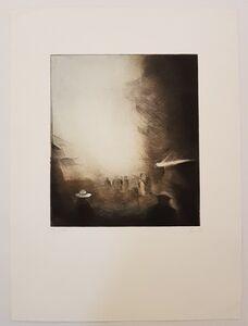 Werner Lichtner-Aix, 'Marché hébdomadaire', 1985