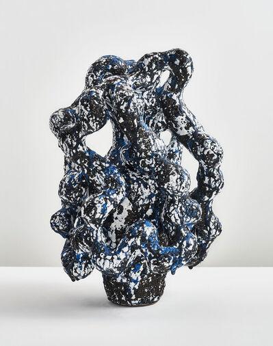 Morten Løbner Espersen, 'Horror Vacui (Blue/Matte Black)', 2014