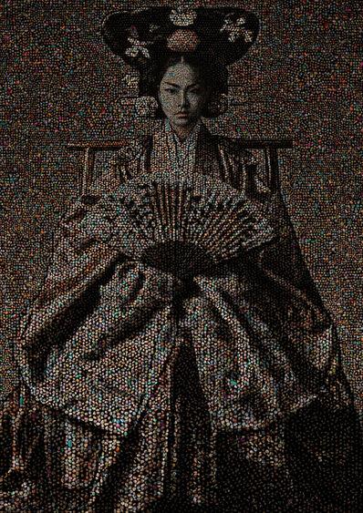 Chongil Woo, 'Joseon Dynasty Royal family series, Empress #14 ', 2017