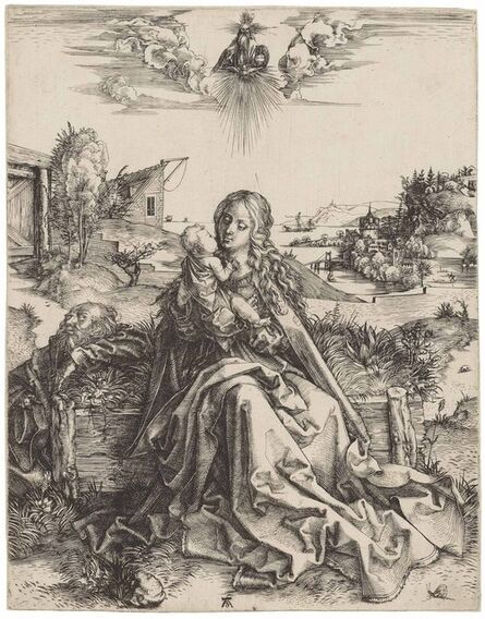 Albrecht Dürer, 'The Holy Family with the Butterfly (B. 44; M., Holl. 142; S.M.S. 2)', ca. 1495