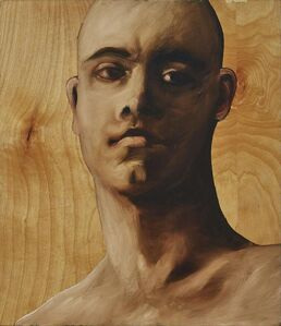 Attila Richard Lukacs, 'Sharp Skin Portrait VIII', 1997