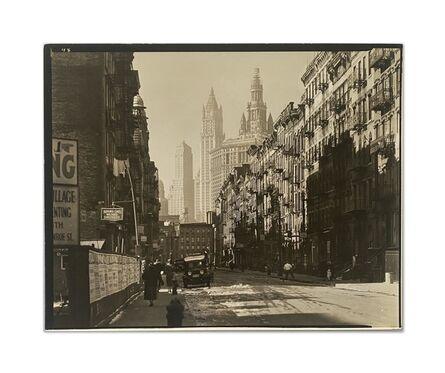Berenice Abbott, 'Henry Street, Manhattan, Nov 29', 1935