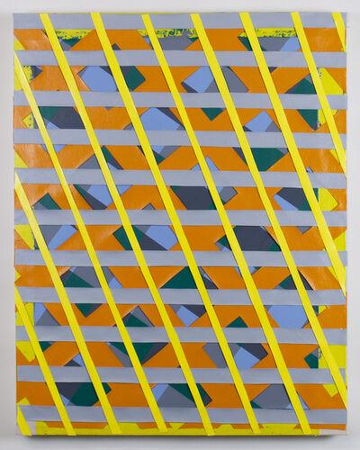"Timothy Harding, '32"" x 23"" on 35"" x 27""', 2016"