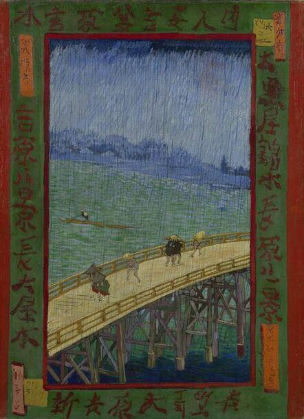 Vincent van Gogh, 'Bridge in the Rain (After Hiroshige)', 1887