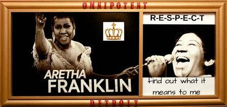 Charzette Torrence, 'The One and Only Queen Aretha Franklin', 2018