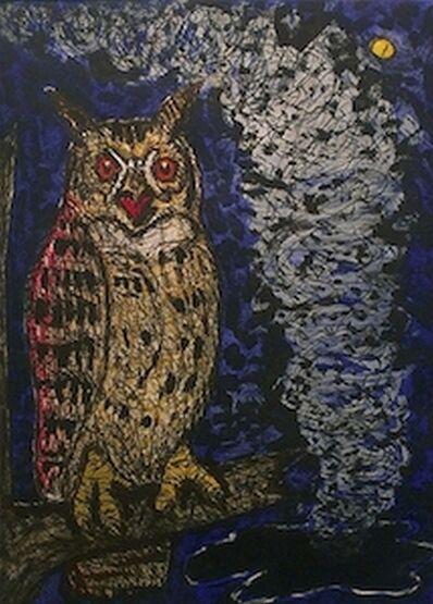 Frank X. Tolbert, 'Horned Owl', 2014