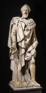 Pierre de Franqueville, 'Henri IV en pied (Statue of Henri IV)', c. 1605
