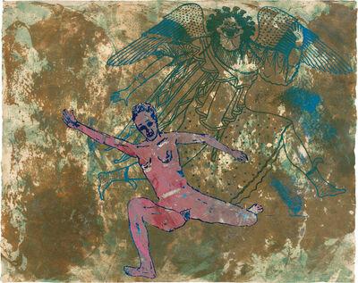Nancy Spero, 'Gorgon and Runner', 1995