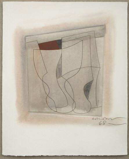 Ben Nicholson, 'Complex of Goblets', 1968