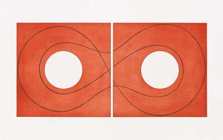 Robert Mangold (b. 1937), 'Double Square Frame II', 2015