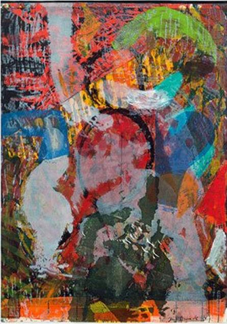 Jim Dine, 'A Million Kisses Poem', 2015