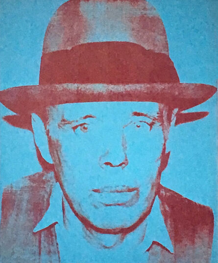 Andy Warhol, 'Warhol Joseph Beuys announcement', 1980