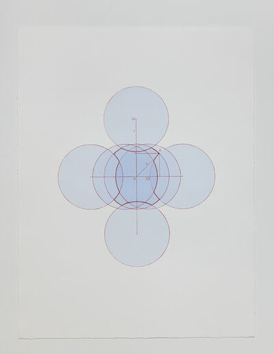 Wu Shanzhuan & Inga Svala Thórsdóttir, 'Seven Circles Little Fat Flesh (Stone Plate plus Screen Print)', 2013