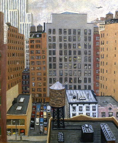Rudy Burckhardt, '38th Street South', 1987