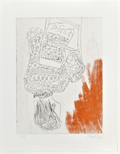 Georg Baselitz, 'Norweger rückwärts II', 2013