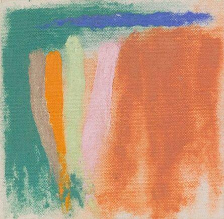 Friedel Dzubas, 'Westerly - Sketch', 1973