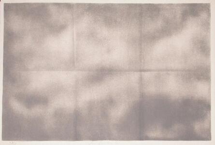 Joe Goode, 'Grey Folded Clouds - IV Grey', 1971