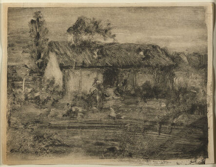 William Merritt Chase, 'Landscape with House', ca. 1900