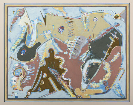 Tommy Simpson, 'Burr Wiggles', 2014