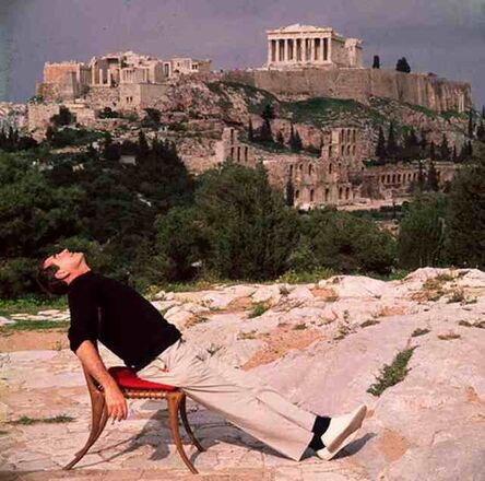 Slim Aarons, 'Self Portrait on Holiday in Athens, Greece', 1955