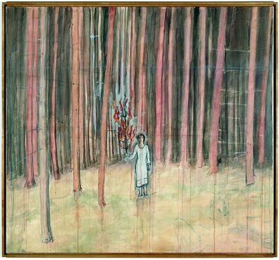 Anselm Kiefer, 'Mann im Wald', 1971