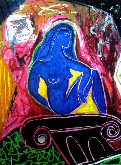 Louie DeVito, 'The Blue Lady', 2011