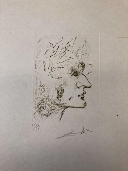Salvador Dalí, 'Julius Caesar From the series Shakespeare I', 1968