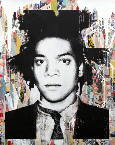 Mr. Brainwash, 'Basquiat', 2014