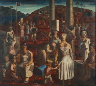 Cândido Portinari, 'Festa de São João', 1936