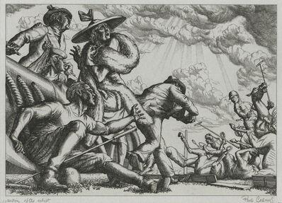 Paul Cadmus, 'Polo Spill (Aspects of Suburban Life)', 1938