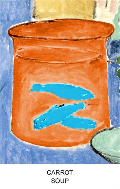 John Baldessari, 'Eight Soups: Carrot Soup', 2012