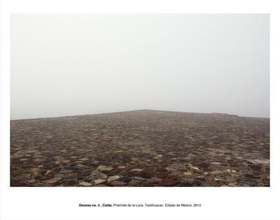 """Humberto Ríos, 'Deceso no. 4, Caída. Pirámide de la Luna. Teotihuacán. Estado de México (from the series """"Forensic Documents"""")', 2013"""