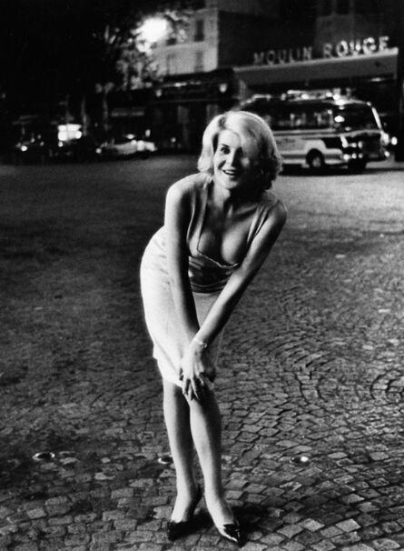 Christer Strömholm, '0029-3 Gina, Place Blanche, Paris', 1963