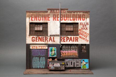 Joshua Smith, 'Allied Engine Repair (based on Willow Street, Tenderloin, San Francisco)', 2016