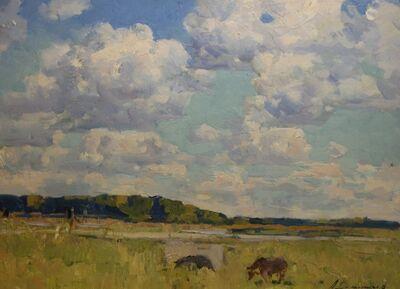 Aleksandr Timofeevich Danilichev, 'Battlefield', 1960