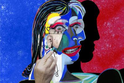 ORLAN, 'Self-hybridation entre femmes (Les femmes qui pleurent sont en colère n°1)', 2019