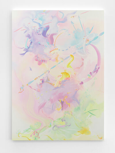 Fiona Rae, 'Titania does her spriting gently', 2018
