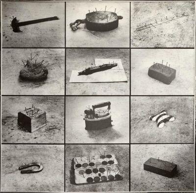 Kanji Wakae, 'Seeing and Looking: Nails', 1974