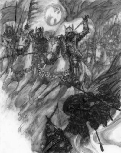 Donato Giancola, 'The Sundering: Battle of Bestanag', 2019