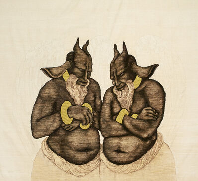 Khadim Ali, 'Untitled 1 (from The haunted lotus series)', 2013
