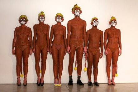 Olaf Breuning, 'Banana Monkeys', 2011